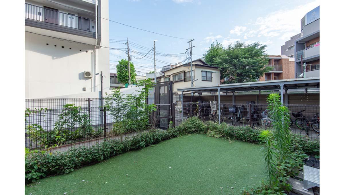 ローズハイツ 仙台坂( センダイサカ )の専用庭