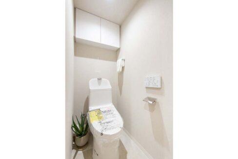 ローズハイツ 仙台坂( センダイサカ )のウォシュレット付トイレ