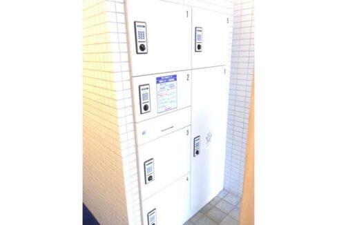 ソレイユ 大井町( オオイマチ )の宅配ボックス