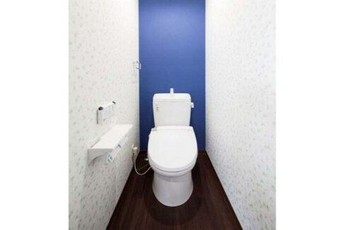 スリー スター レジデンス 学芸大学( ガクゲイダイガク )のウォシュレット付トイレ