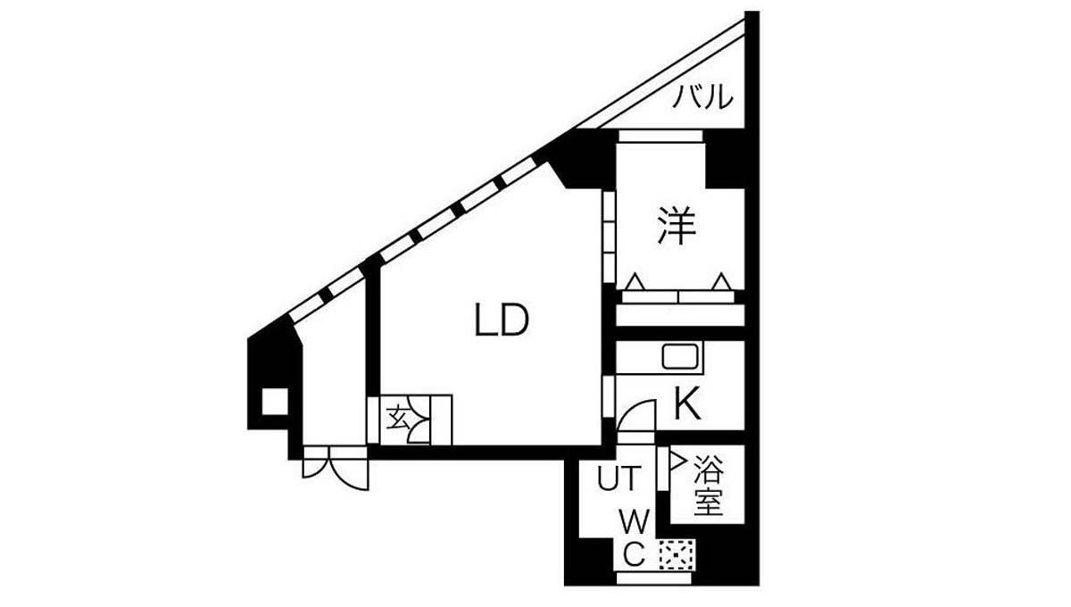 TIME SHARING 大岡山(タイム シェアリング オオカヤマ)の間取図