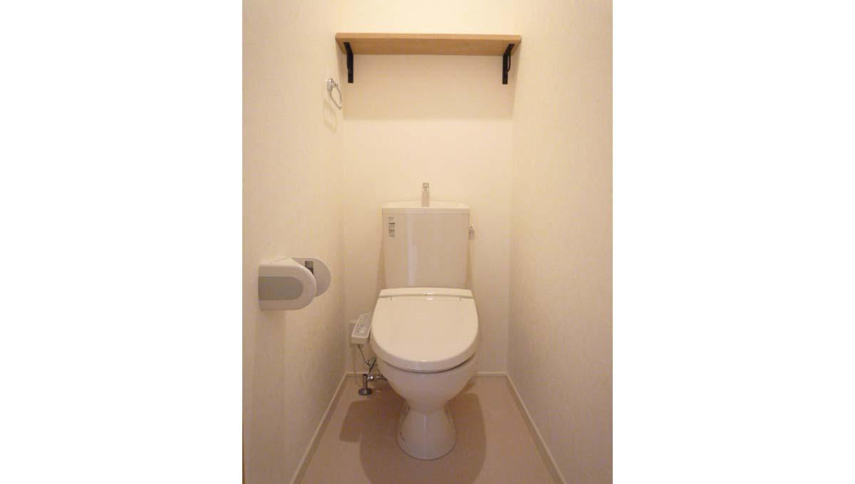 ヴァンヴェールのウォシュレット付トイレ