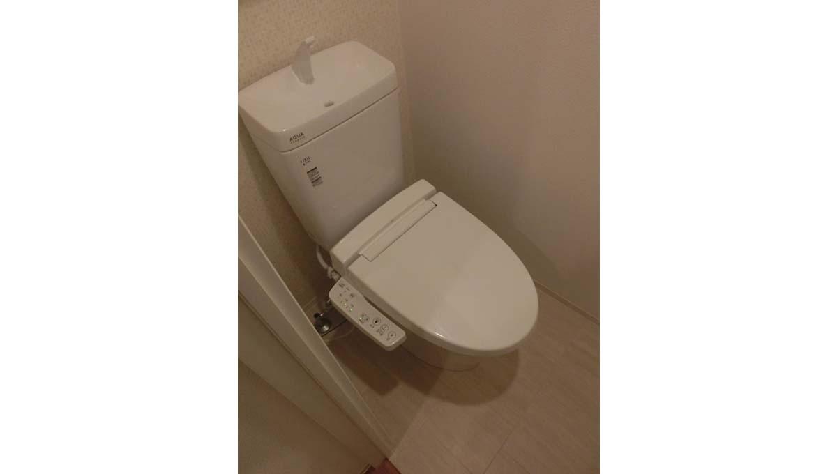 ZOOM 西五反田( ズーム ニシゴタンダ )のウォシュレット付トイレ