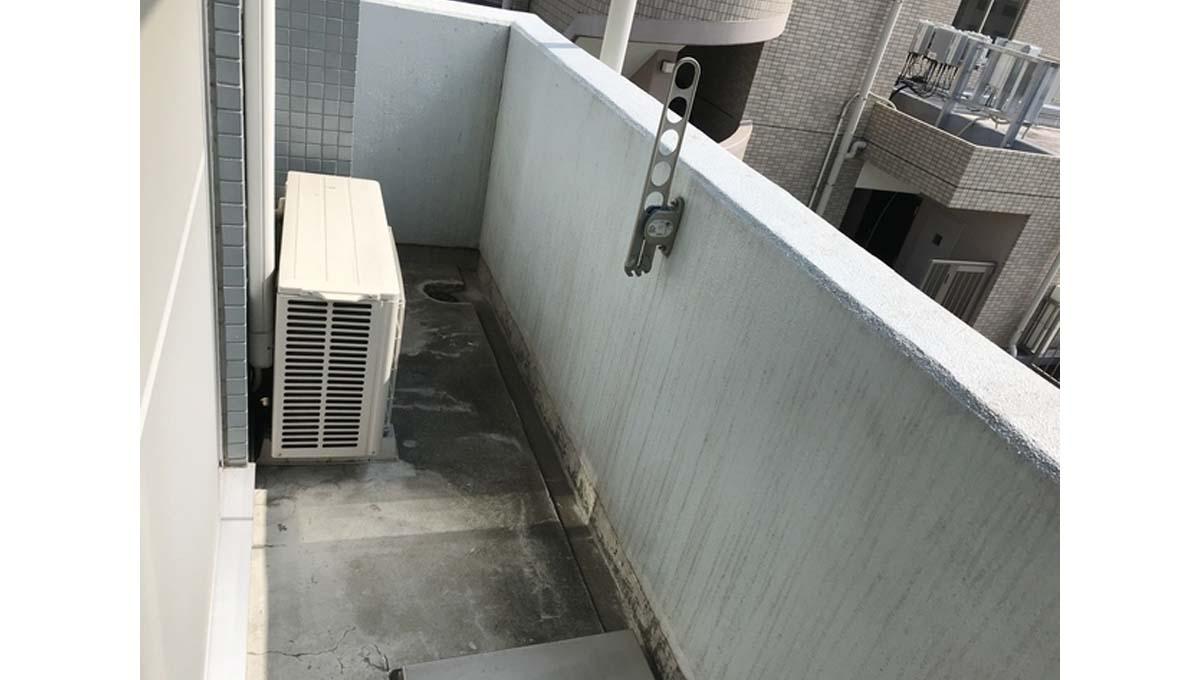 ボヌール 都立大学壱番館(トリツダイガク イチバンカン)のバルコニー