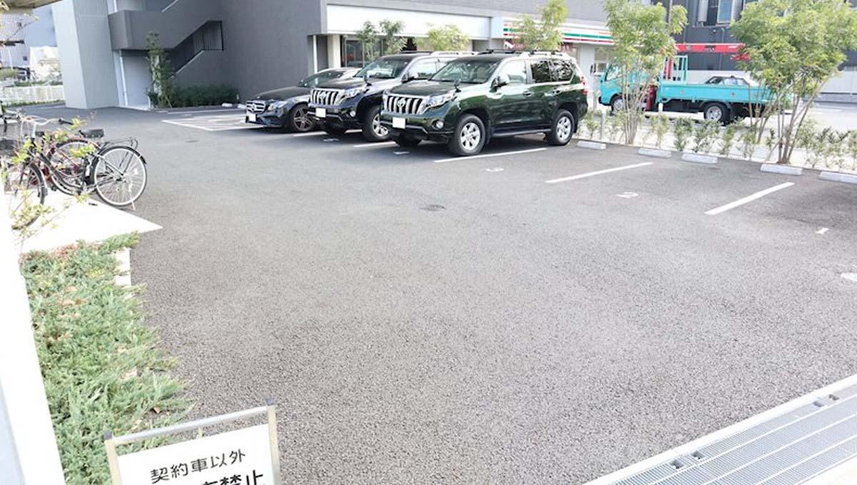 キャナルテラス 品川( シナガワ )の駐車場