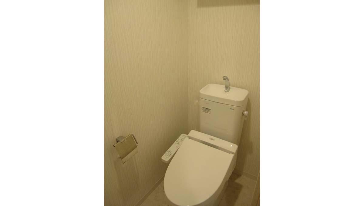 CASA GRANDE YK ( カーサ グランデ ワイケー )のウォシュレット付トイレ