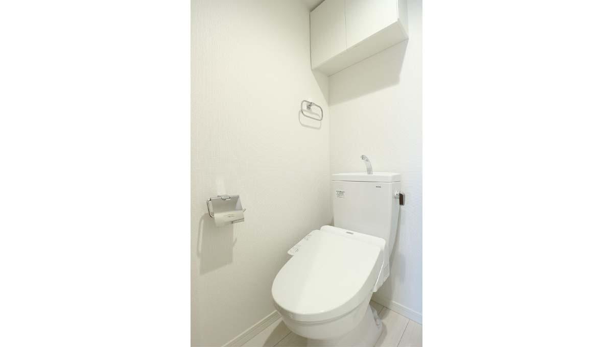 センターバレー西小山( ニシコヤマ )のウォシュレット付トイレ