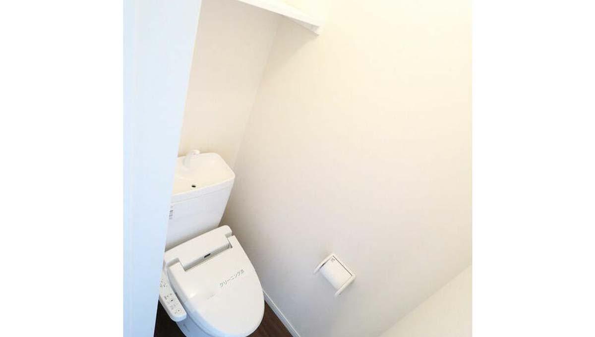 ガーデニア テラス 上野毛 ( カミノゲ )のウォシュレット付トイレ