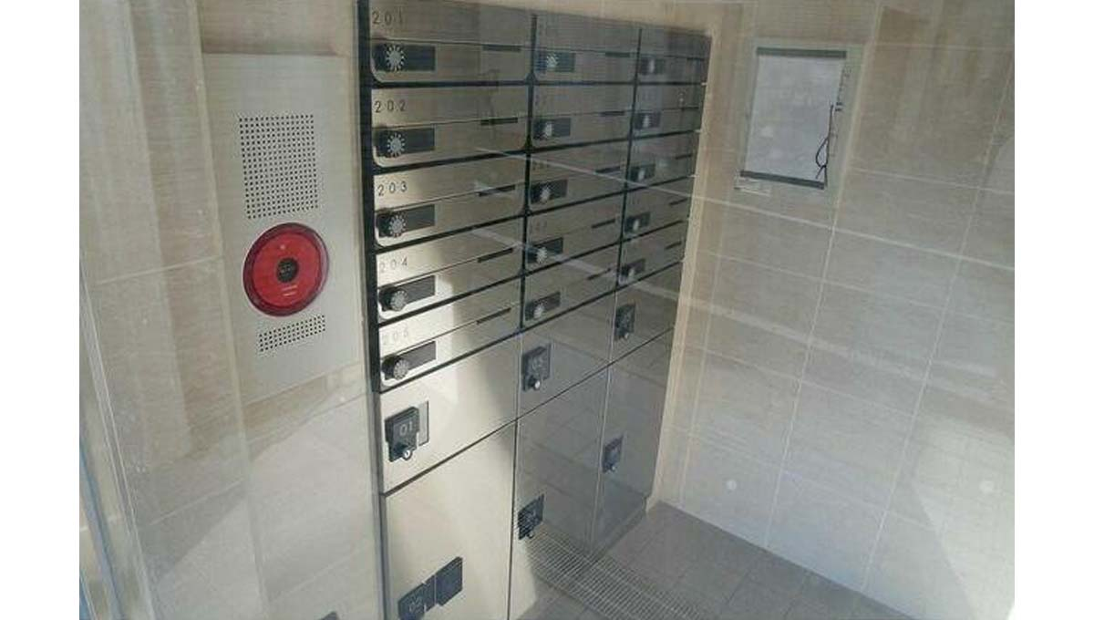 LOC'S MEGUROMINAMI( ロックス メグロミナミ )の宅配ボックス