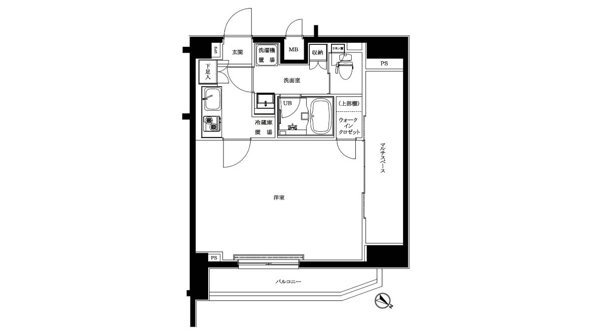 louvre-hatanodai-nibankan-floor-plan-503