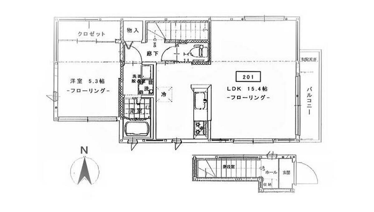 Maple Garden( メープルガーデン )の間取図
