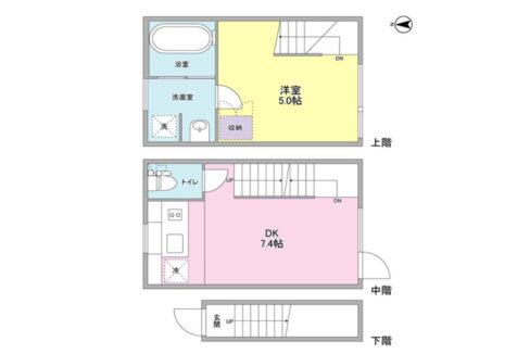 ニューメゾネット 白金台( シロカネダイ )の間取図
