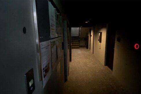 PASEO荏原中延(エバラナカノブ)の内廊下