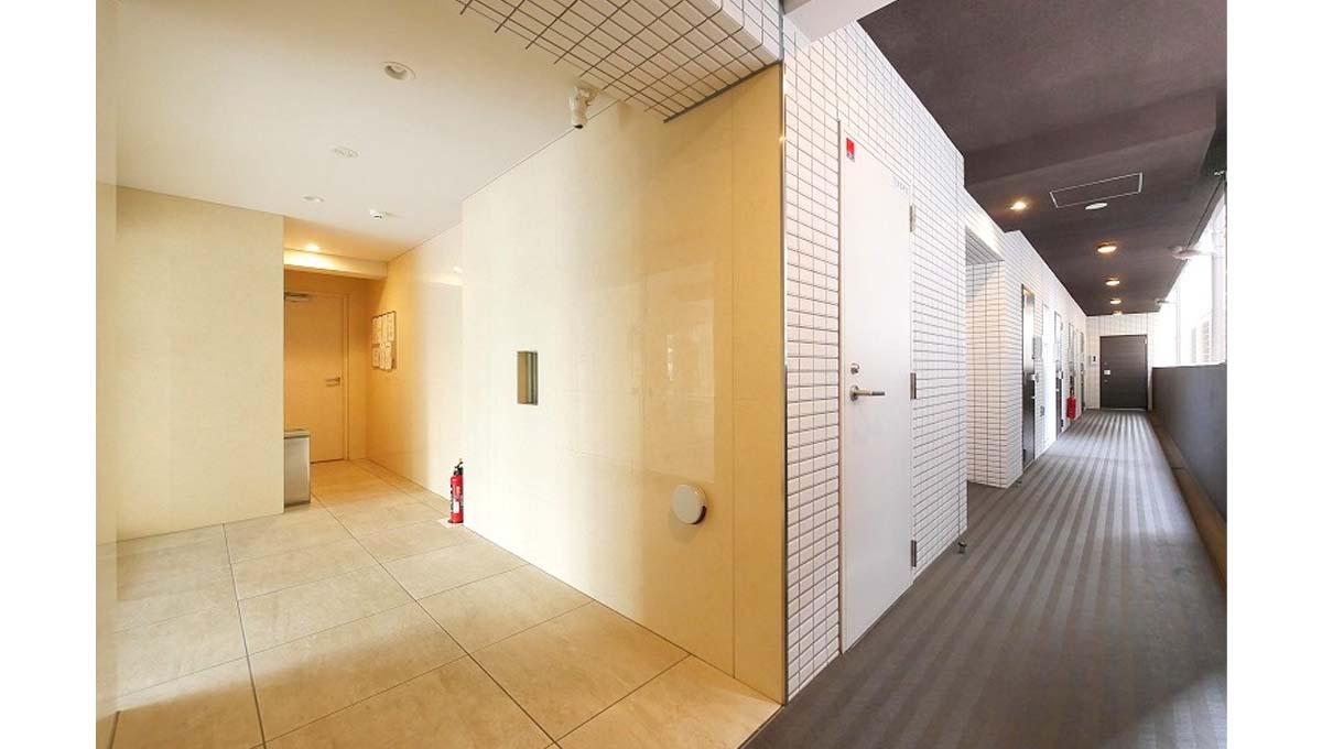 プレミアムキューブ 大井町 #mo( オオイマチ )の廊下
