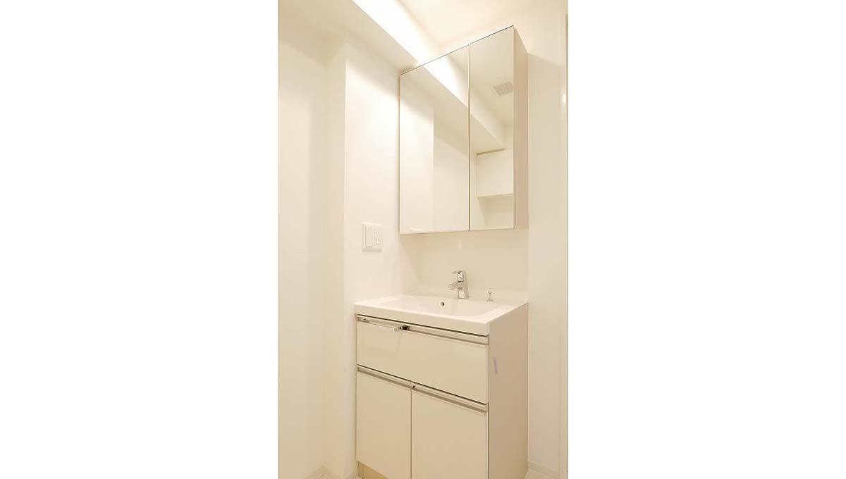 プレミアムキューブ 大井町 #mo( オオイマチ )の独立洗面化粧台