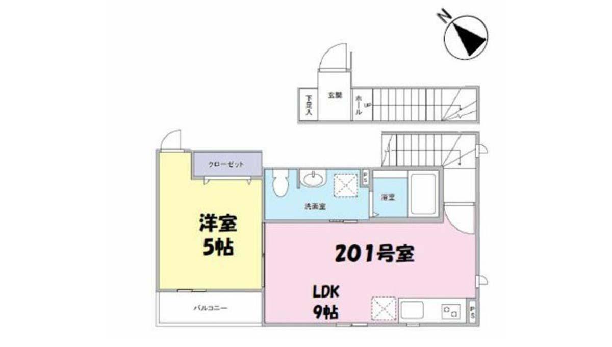 セゾン桜坂 ( サクラザカ )の間取図