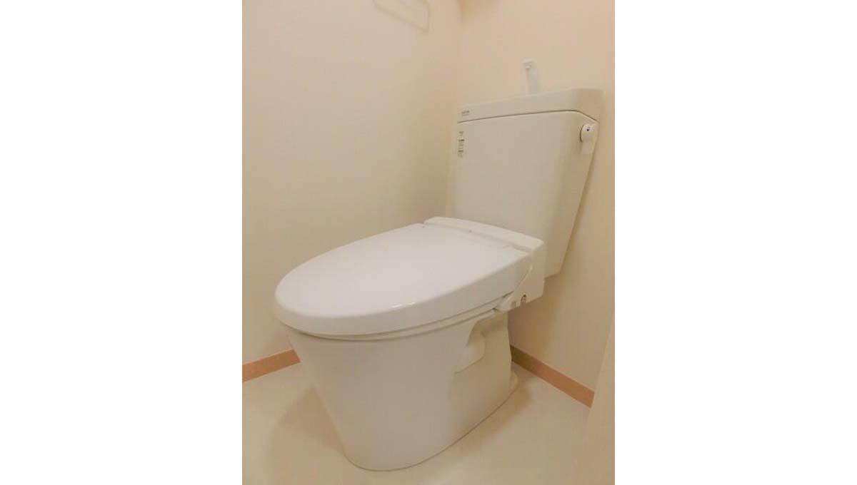 セゾン桜坂 ( サクラザカ )のウォシュレット付トイレ