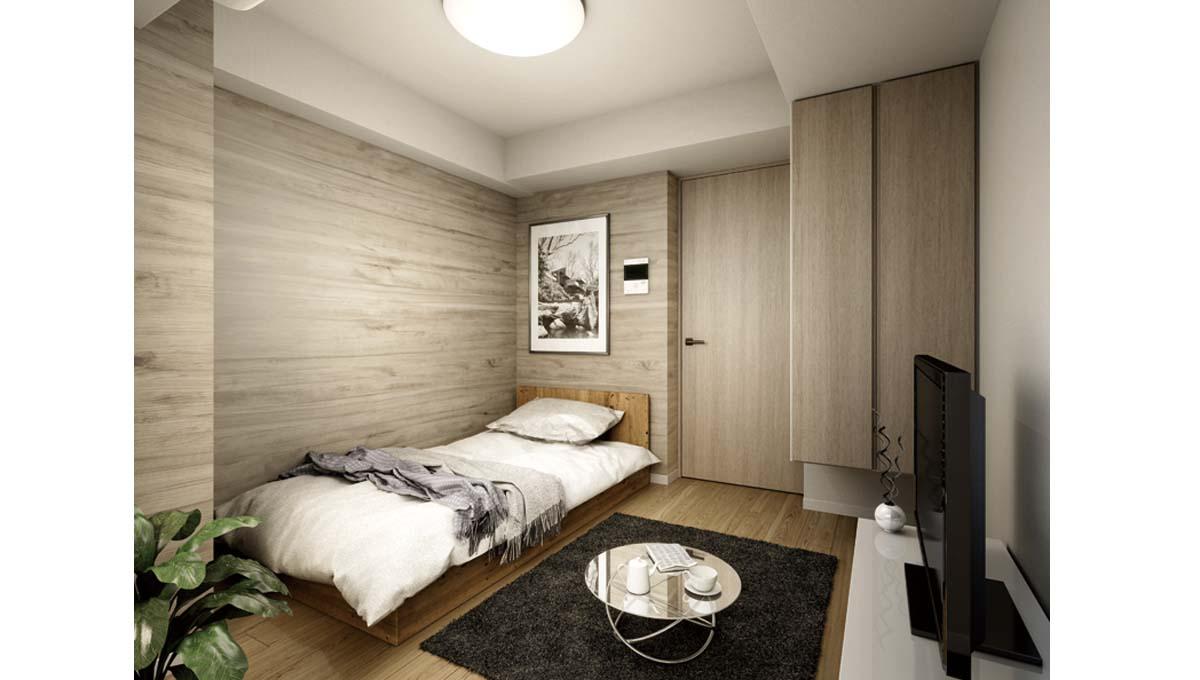 SYFOROME OIMACHI ( シーフォルム オオイマチ )のベッドルーム