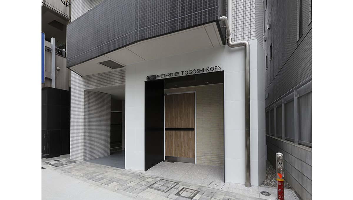 SYFOROME TOGOSHO-KOEN ( シーフォルムトゴシコウエン )のエントランス