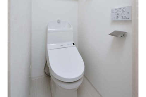 SYFOROME TOGOSHO-KOENⅡ(シーフォルムトゴシコウエン2)のウォシュレット付トイレ
