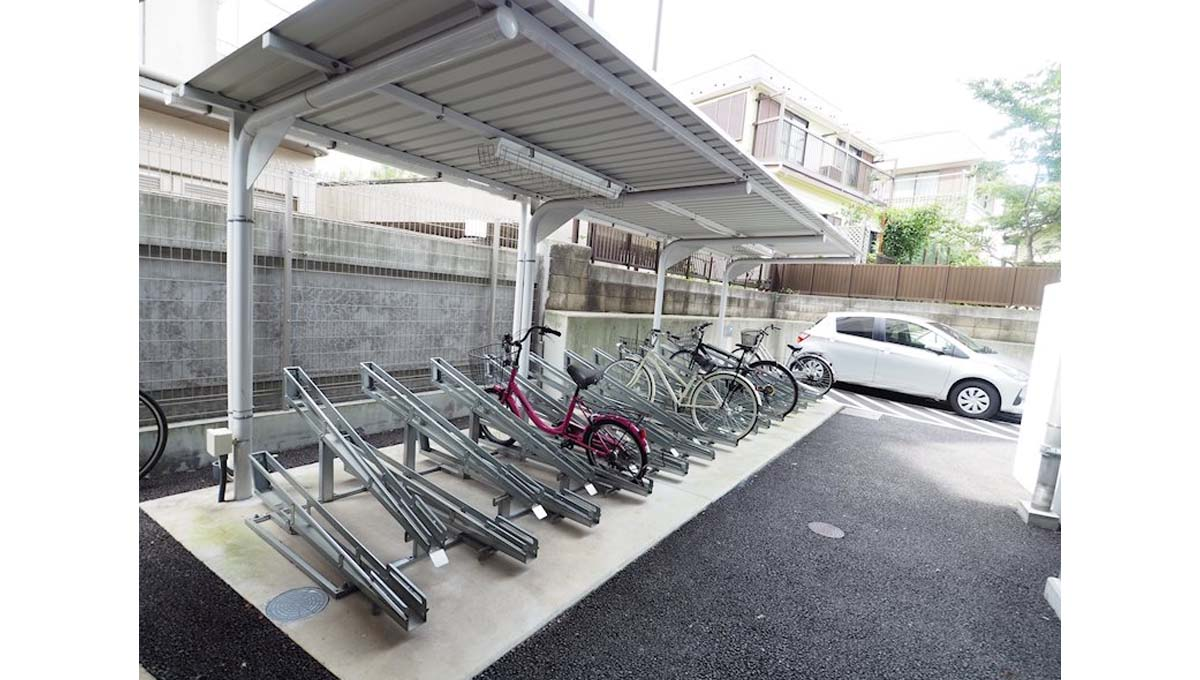 urbanex-hatanodai-bycycle-parking