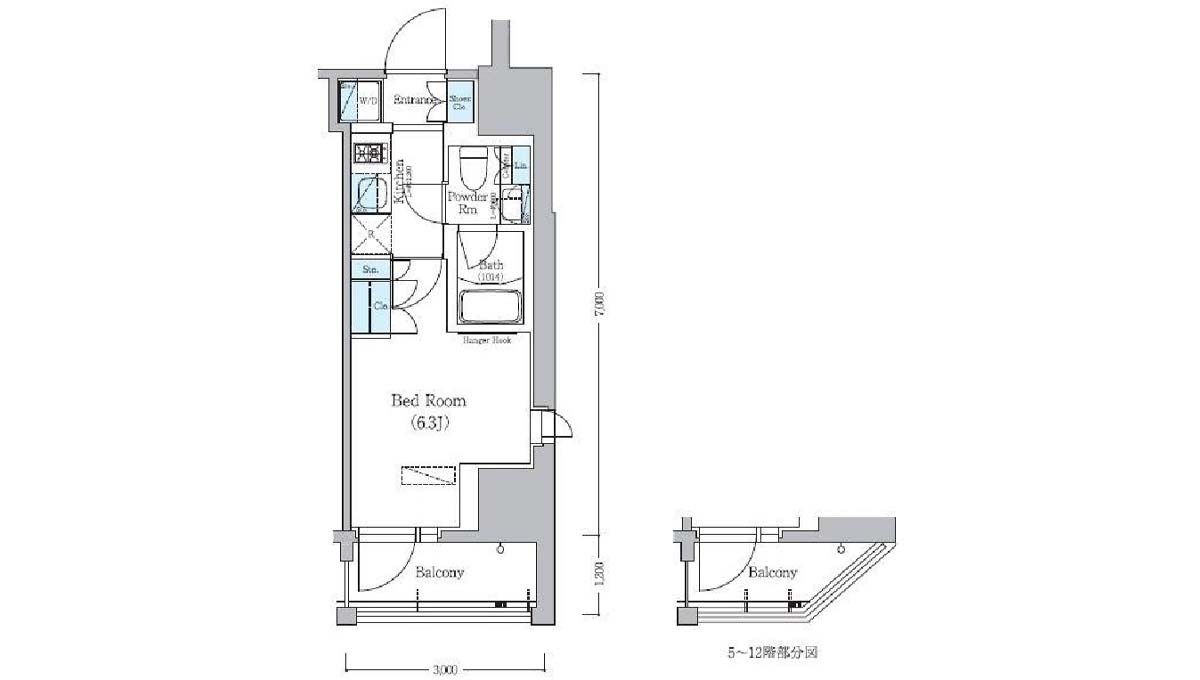 urbanex-hatanodai-floor-plan